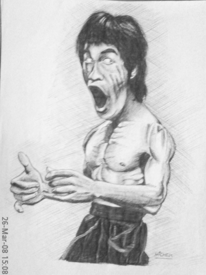 Bruce Lee by hicham